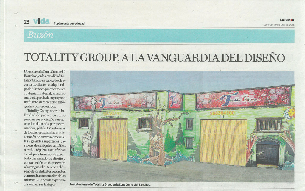 Totality Group Noticias Vida